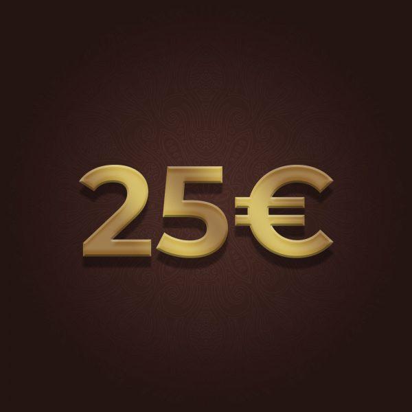 Sunan 25 Euro Gutschein