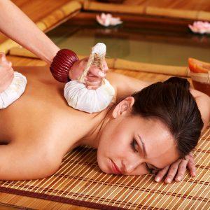 Sunan Kräuter Stempel Massage
